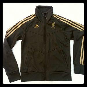 adidas Liverpool F.C. Full Zip Track Jacket Medium